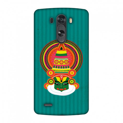 Kathakali Slim Hard Shell Case For LG G4