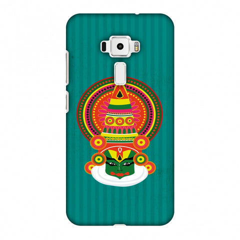 Kathakali Slim Hard Shell Case For Asus Zenfone 3 ZE520KL