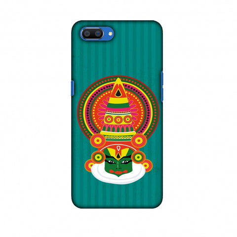 Kathakali Slim Hard Shell Case For Oppo Realme C1