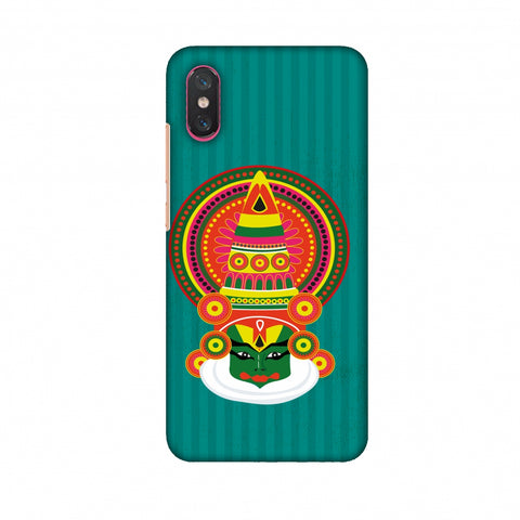 Kathakali Slim Hard Shell Case For Xiaomi Mi 8 Pro