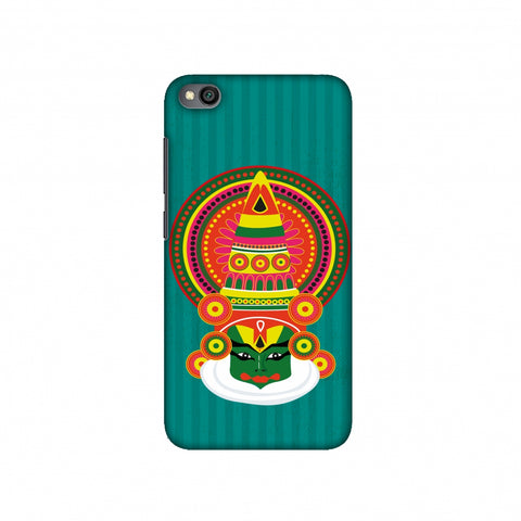 Kathakali Slim Hard Shell Case For Redmi Go