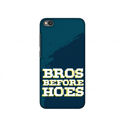 Bros Before Hoes Slim Hard Shell Case For Redmi Go