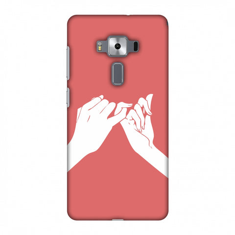 Pinky Promise Slim Hard Shell Case For Asus Zenfone 3 Deluxe ZS570KL