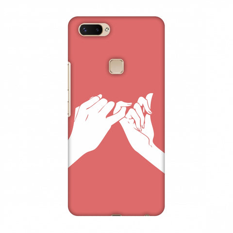 Pinky Promise Slim Hard Shell Case For Vivo X20 Plus