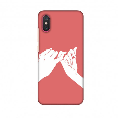 Pinky Promise Slim Hard Shell Case For Xiaomi Mi 8 Pro