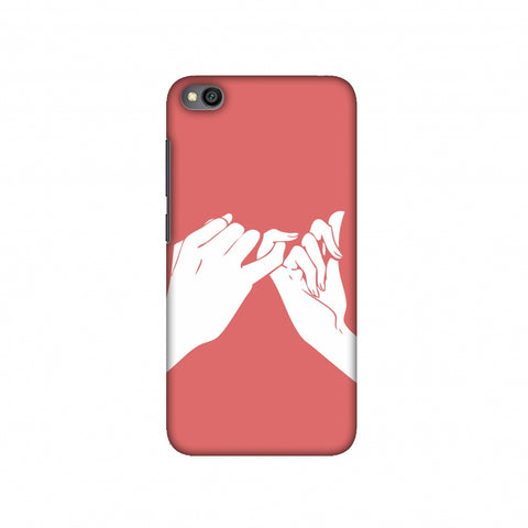 Pinky Promise Slim Hard Shell Case For Redmi Go