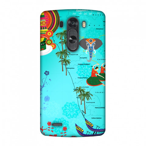 Kerala - God's Own Place Slim Hard Shell Case For LG G4