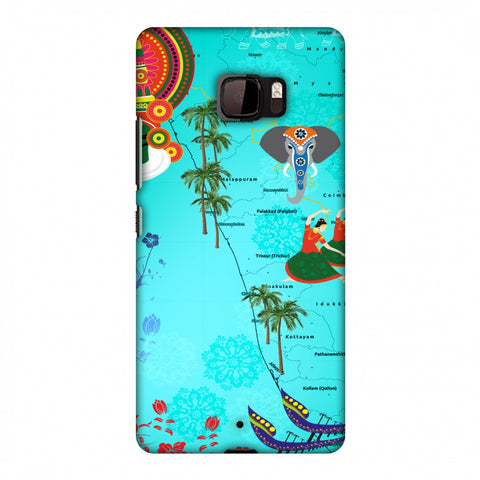 Kerala - God's Own Place Slim Hard Shell Case For HTC U Ultra