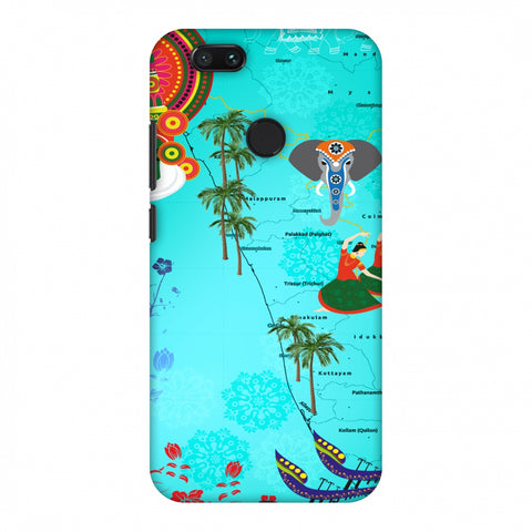 Kerala - God's Own Place Slim Hard Shell Case For Xiaomi MI A1-5X