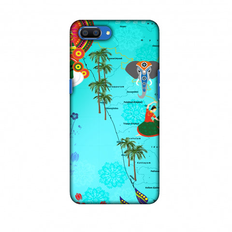 Kerala - God's Own Place Slim Hard Shell Case For Oppo Realme C1