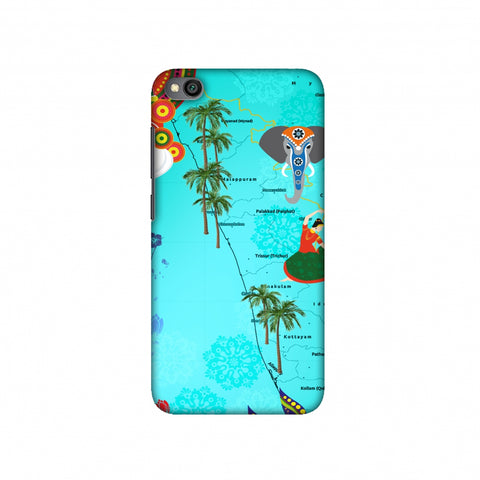 Kerala - God's Own Place Slim Hard Shell Case For Redmi Go