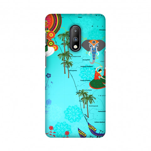 Kerala - God's Own Place Slim Hard Shell Case For OnePlus 7