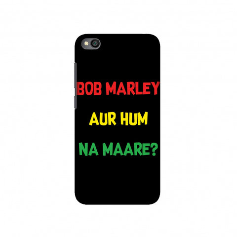 Bob Marley Slim Hard Shell Case For Redmi Go