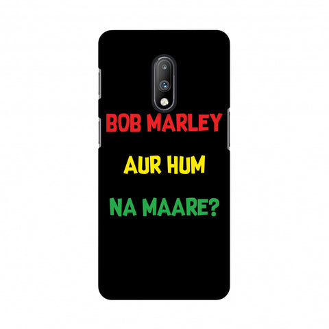 Bob Marley Slim Hard Shell Case For OnePlus 7