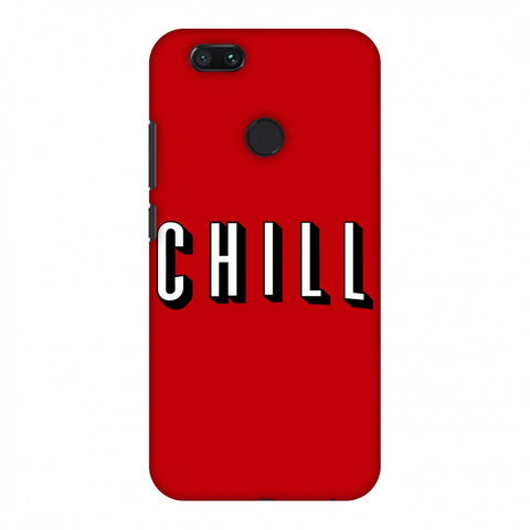 CHILL Slim Hard Shell Case For Xiaomi MI A1-5X