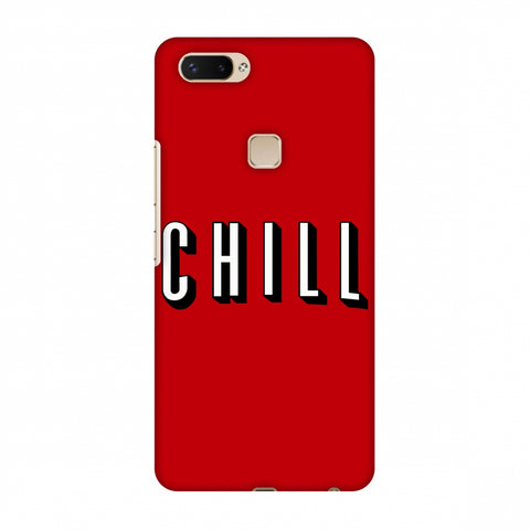 CHILL Slim Hard Shell Case For Vivo X20 Plus