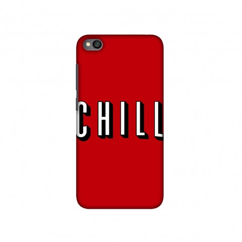 CHILL Slim Hard Shell Case For Redmi Go