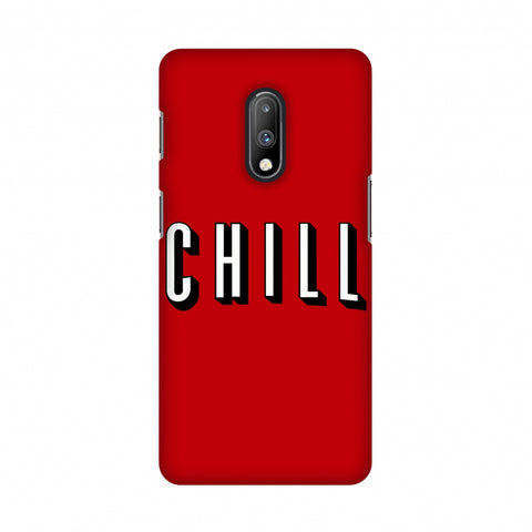 CHILL Slim Hard Shell Case For OnePlus 7