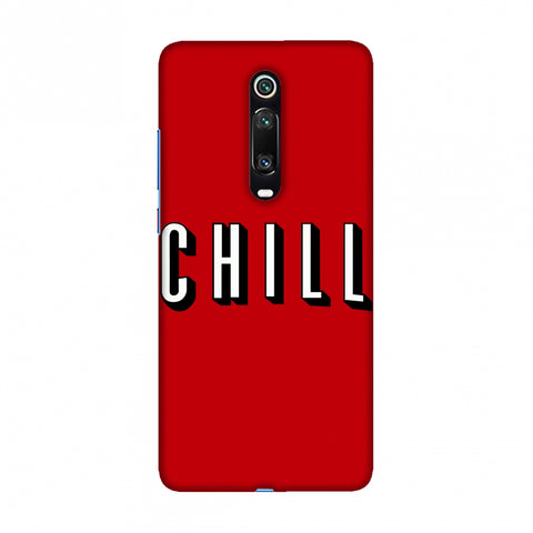 CHILL Slim Hard Shell Case For Redmi K20/K20 Pro