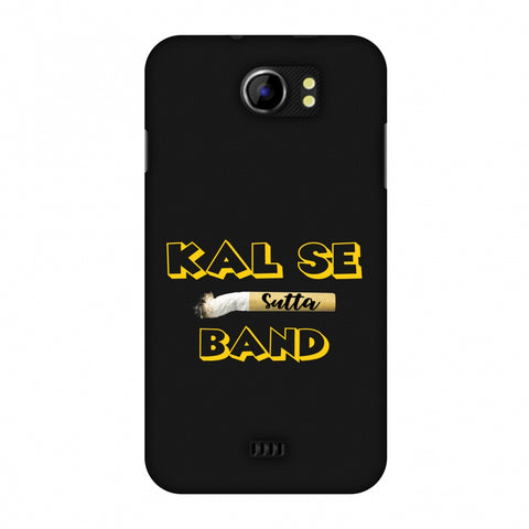 Kal Se Sutta Band Slim Hard Shell Case For Micromax Canvas 2 A110