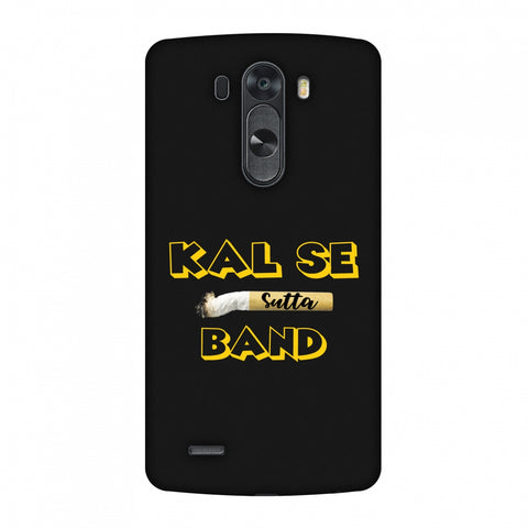 Kal Se Sutta Band Slim Hard Shell Case For LG G4