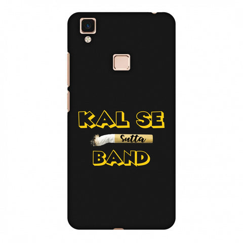 Kal Se Sutta Band Slim Hard Shell Case For Vivo V3 Max
