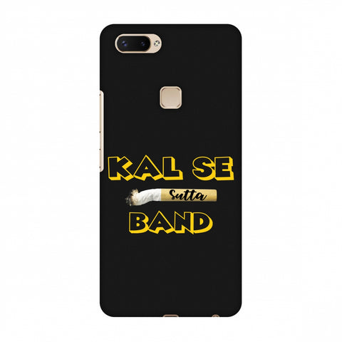 Kal Se Sutta Band Slim Hard Shell Case For Vivo X20 Plus