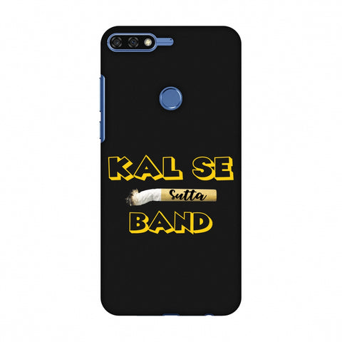 Kal Se Sutta Band Slim Hard Shell Case For Huawei Honor 7C