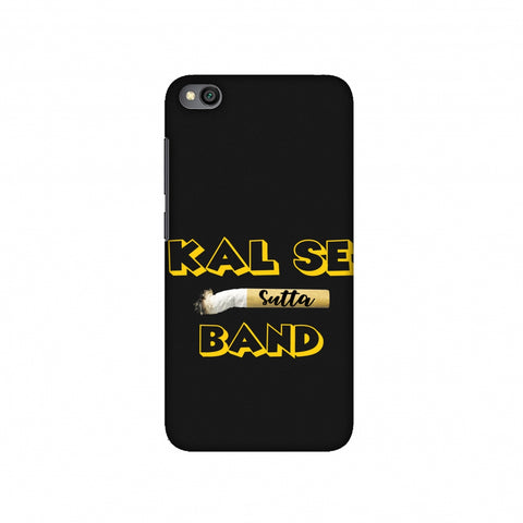 Kal Se Sutta Band Slim Hard Shell Case For Redmi Go