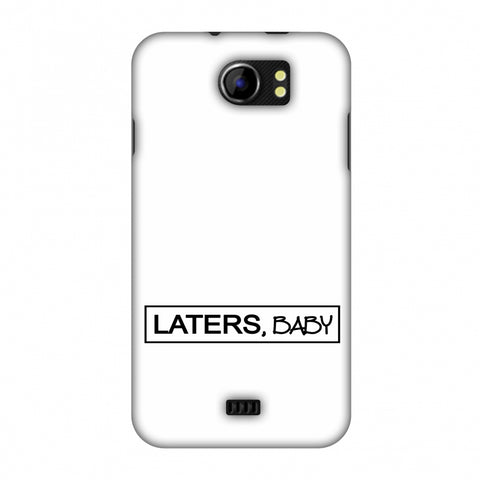LATERS, BABY Slim Hard Shell Case For Micromax Canvas 2 A110