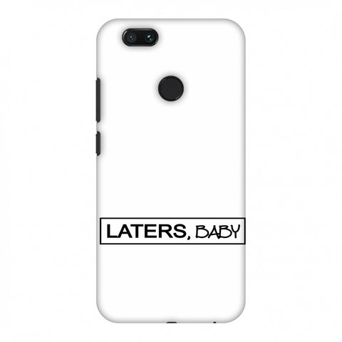 LATERS, BABY Slim Hard Shell Case For Xiaomi MI A1-5X