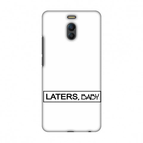 LATERS, BABY Slim Hard Shell Case For Meizu Note 6