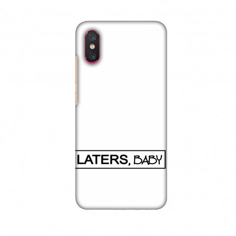 LATERS, BABY Slim Hard Shell Case For Xiaomi Mi 8 Pro