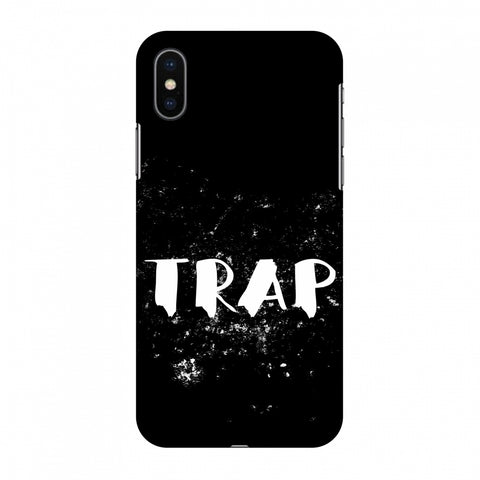Trap Slim Hard Shell Case For Apple iPhone X
