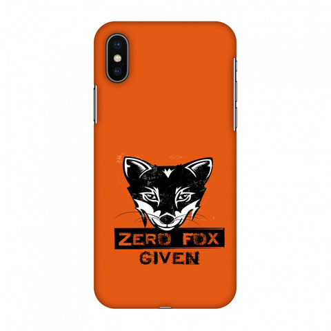 Zero Fox Given Slim Hard Shell Case For Apple iPhone X