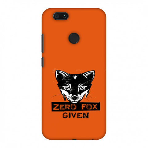 Zero Fox Given Slim Hard Shell Case For Xiaomi MI A1-5X