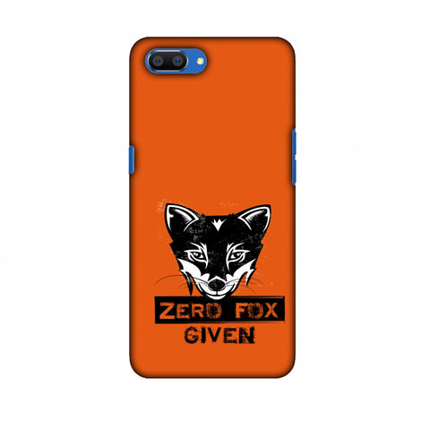Zero Fox Given Slim Hard Shell Case For Oppo Realme C1