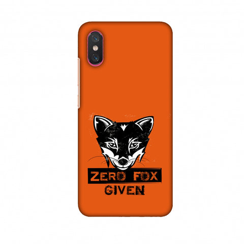 Zero Fox Given Slim Hard Shell Case For Xiaomi Mi 8 Pro