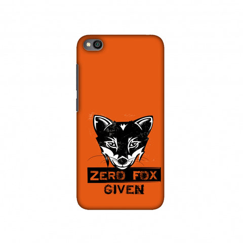 Zero Fox Given Slim Hard Shell Case For Redmi Go