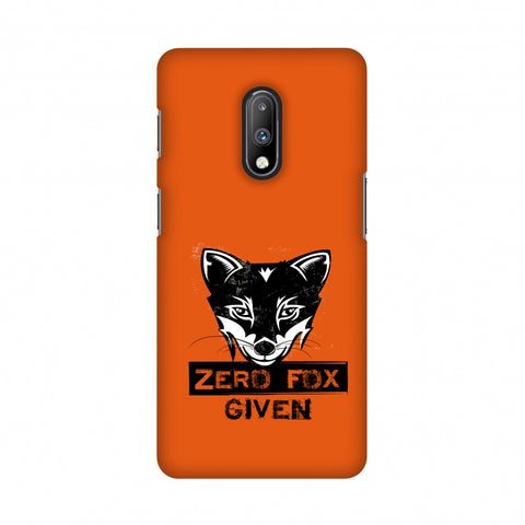 Zero Fox Given Slim Hard Shell Case For OnePlus 7