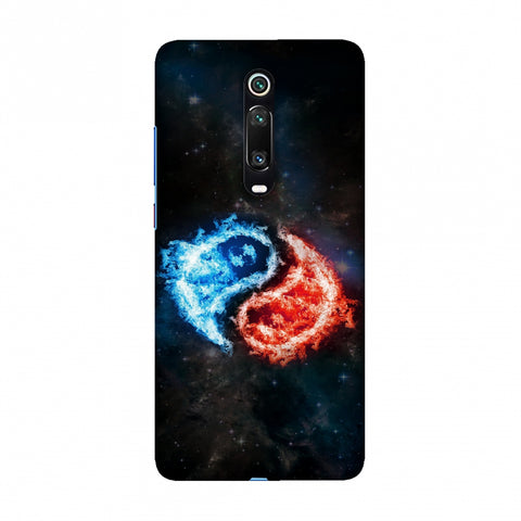 Element - Fire & Water Slim Hard Shell Case For Redmi K20/K20 Pro