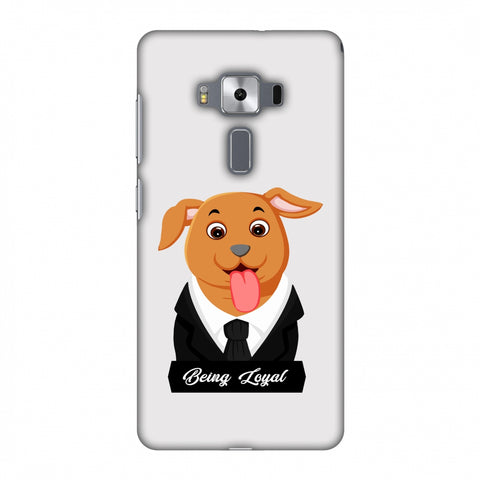 Dog - Being Loyal Slim Hard Shell Case For Asus Zenfone 3 Deluxe ZS570KL