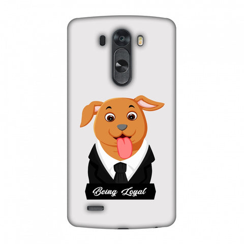 Dog - Being Loyal Slim Hard Shell Case For LG G4