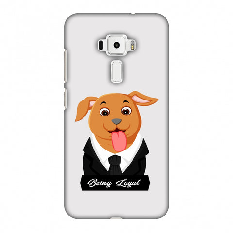 Dog - Being Loyal Slim Hard Shell Case For Asus Zenfone 3 ZE520KL