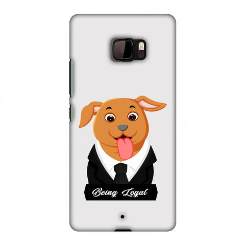 Dog - Being Loyal Slim Hard Shell Case For HTC U Ultra