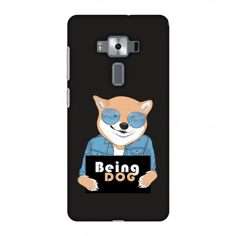 Being DOG Slim Hard Shell Case For Asus Zenfone 3 Deluxe ZS570KL