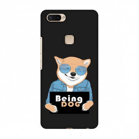Being DOG Slim Hard Shell Case For Vivo X20 Plus