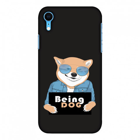Being DOG Slim Hard Shell Case For iPhone Xr