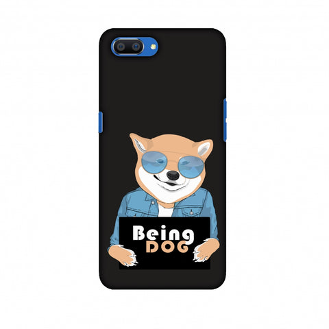 Being DOG Slim Hard Shell Case For OPPO Realme C1