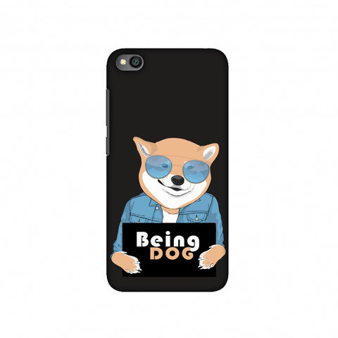Being DOG Slim Hard Shell Case For Redmi Go